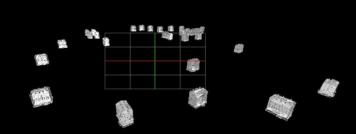 G P A geometry view showing sub-optimal object culling.