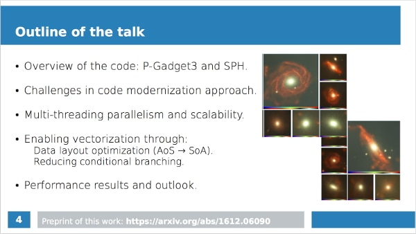 Screenshot of presentation slide 5 with information about P-Gadget 3