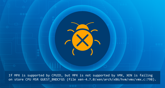 MPX Bug In Xen on Simics