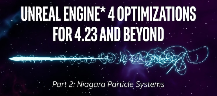 u e 4 optimizations niagra particle systems
