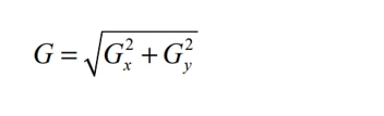 formula to calculate the magnitude G