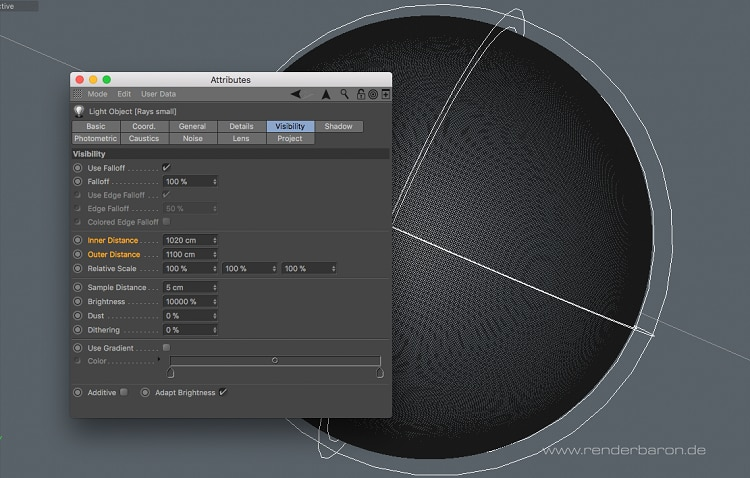 3D object texturing restrictions UI