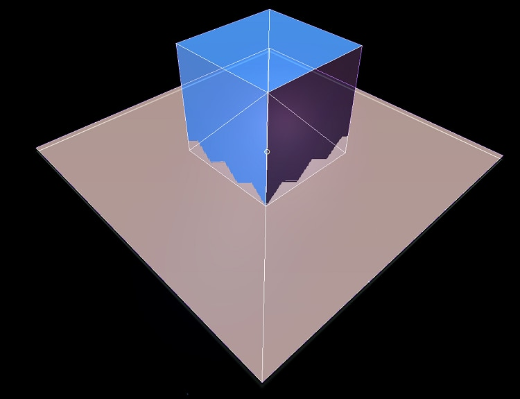 Example of overlapping polygons