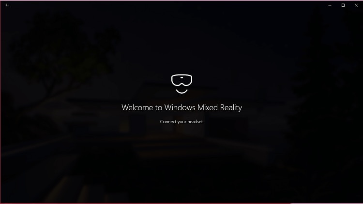 welcome to windows mixed reality