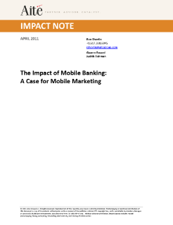 White Paper: The Impact of Mobile Banking
