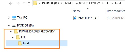 Double click the RECOVERY zip