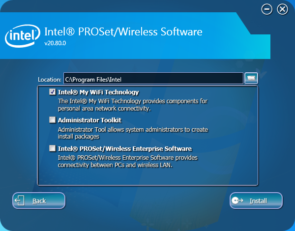 INTEL CALEXICO WIRELESS LAN DRIVER WINDOWS XP