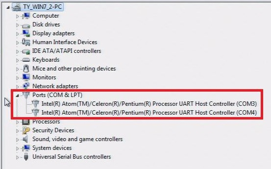 PC-to-PC Communication over Serial Port