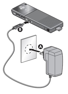 plug into power source