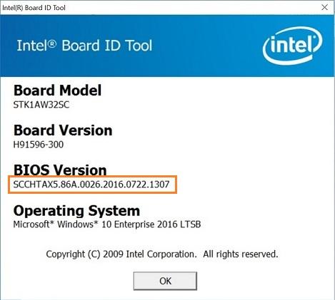Intel® Board ID Tool