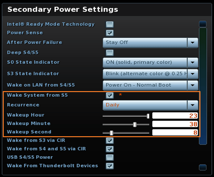 Intel® NUC Does Not Wake Up When Scheduled