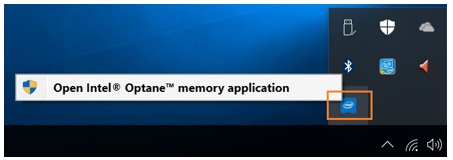 Open Intel Optane memory application