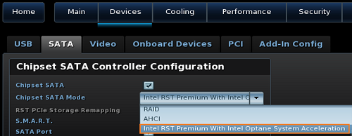 Installing Intel® Optane™ Memory on Intel® NUC Kits
