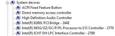 INF in Device Manager