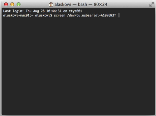 how to get past the password in terminal on mac
