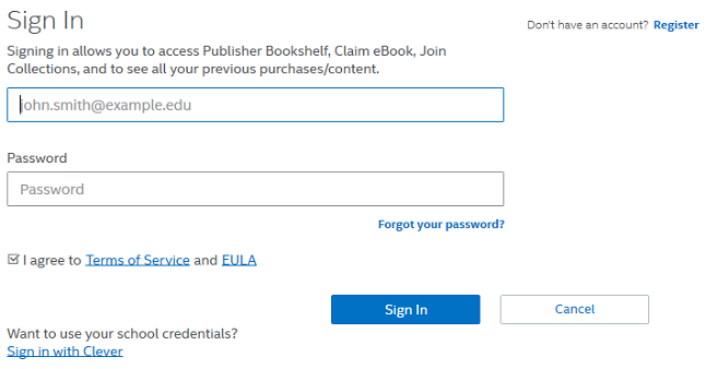 Redeem access codes for etextbooks from intel education study enter info fandeluxe Image collections