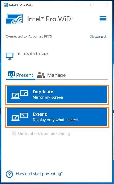 Intel wireless display download.