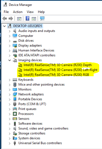 R200 Device Manager