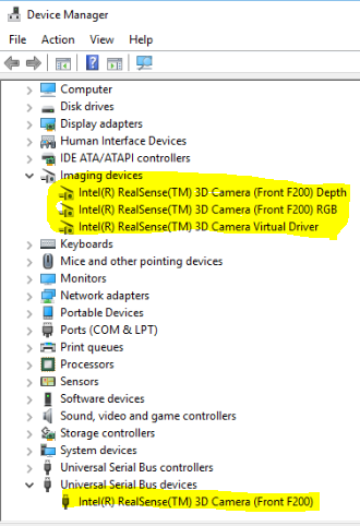 F200 Device Manager