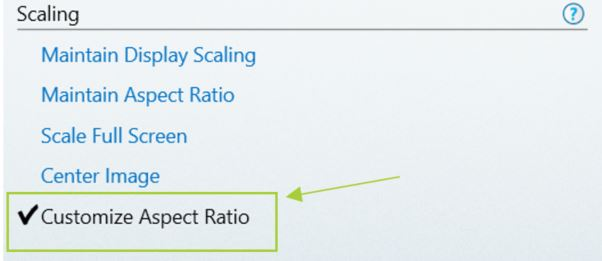 Support for Custom Scaling on Intel Atom® Processors