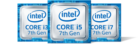 7th generation Intel core Processors