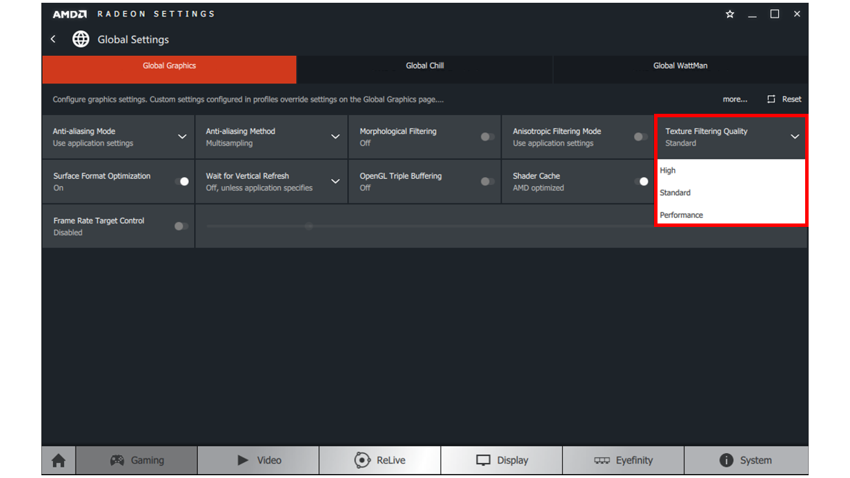 How To Configure Amd Radeon Settings To Get An Optimal Gaming