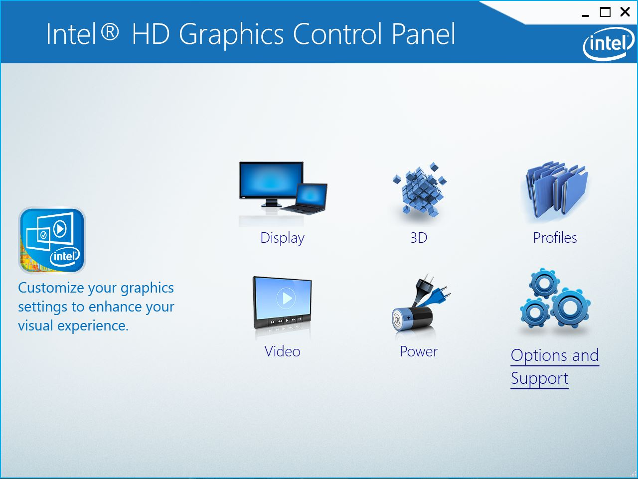 Intel Graphics Control Panel Download