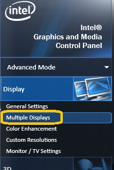 select Multiple Displays