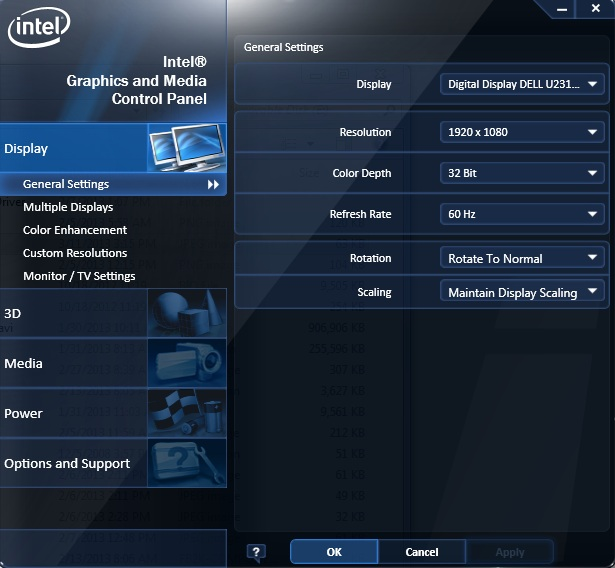 Драйвер HD Графики Intel