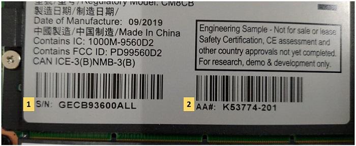 Intel NUC 8 Pro Compute Element CM8v5CB