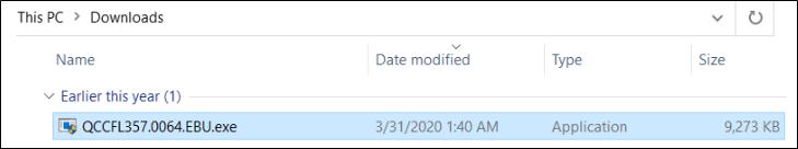 Run the Express BIOS update