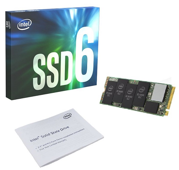 What's in the Box for Intel® SSD 660p Series