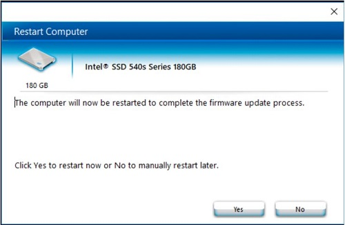 Update Your Intel® SSD Firmware Using the Intel® SSD Toolbox