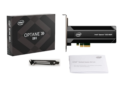 Intel® Optane™ SSD 9 Series Retail Box for PCIe* Add-In Card