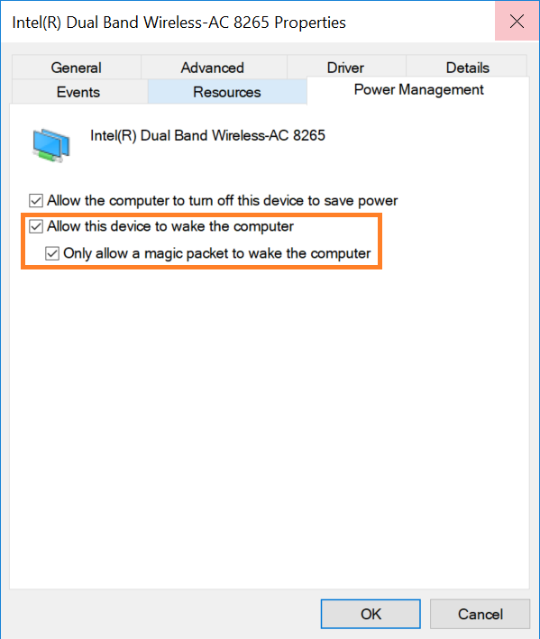 Enable and Test Wake On LAN (WOL) in Windows* for Intel ...