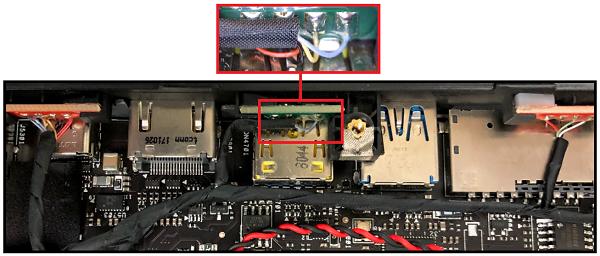 Yellow USB Port Causes Restart on Intel® NUC Kits NUC8i7HVK