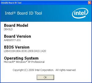 System if you get this message you likely have an oem desktop board