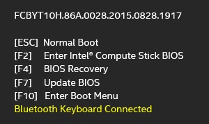 Bluetooth connection status