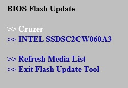 F7 BIOS Update Instructions for Intel® NUC