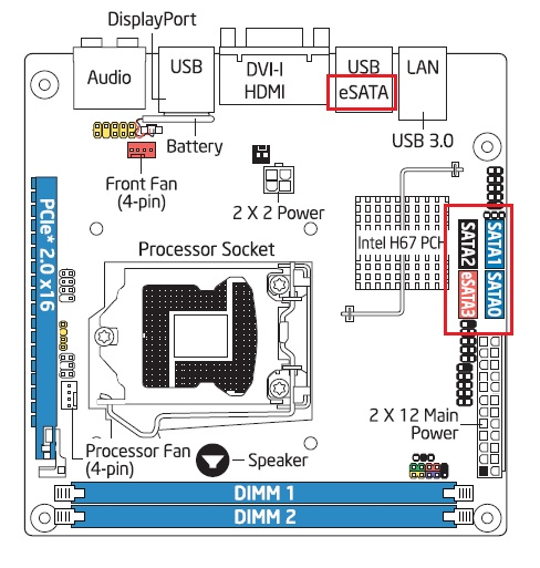 sataports_dh67cf identifying the sata ports on your desktop board  at fashall.co
