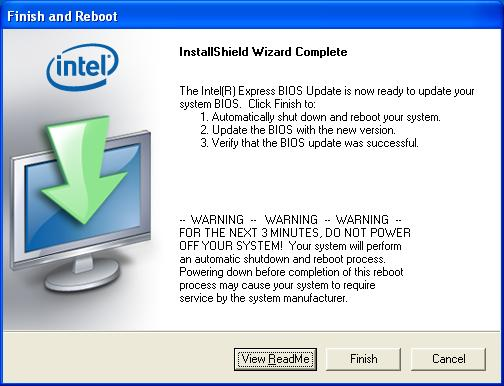 Express BIOS Update Instructions for Intel® Desktop Boards