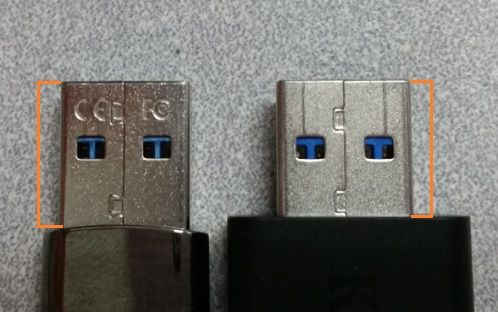 USB with longer connector