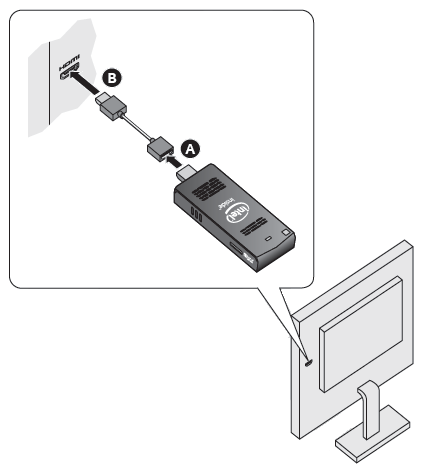 Use HDMI extender cable