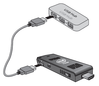 Connect USB hub