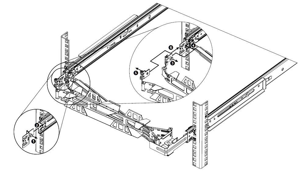 depiction of CMA arm installation