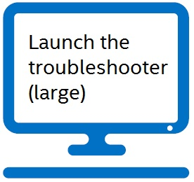 Launch the troubleshooter (large)