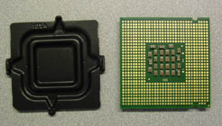 protective cap and cpu