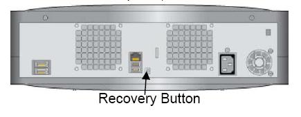 Image indicating the location of the Recovery Button