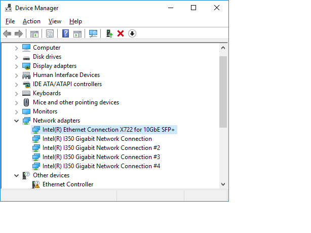 How to Manually Install Intel® Network Adapter Drivers in