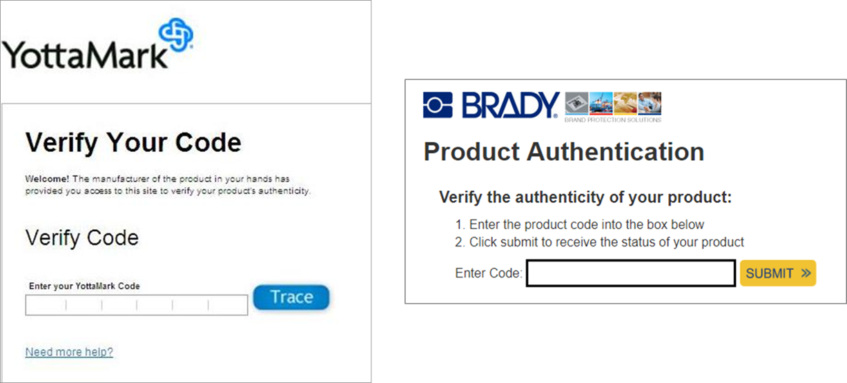 verify and authenticate example